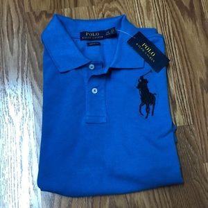 Polo Ralph Lauren Big Boys Mesh Cotton Polo